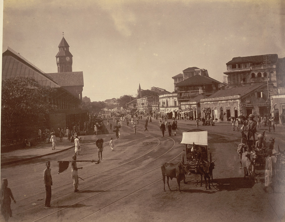 Carnac Road Bombay 1881.